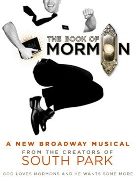 book of mormon broadway show musical poster south park trey parker matt stone