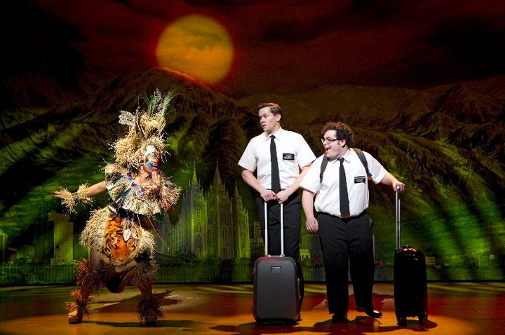 book of mormon broadway show musical scene josh gad andrew rannells picture south park trey parker matt stone