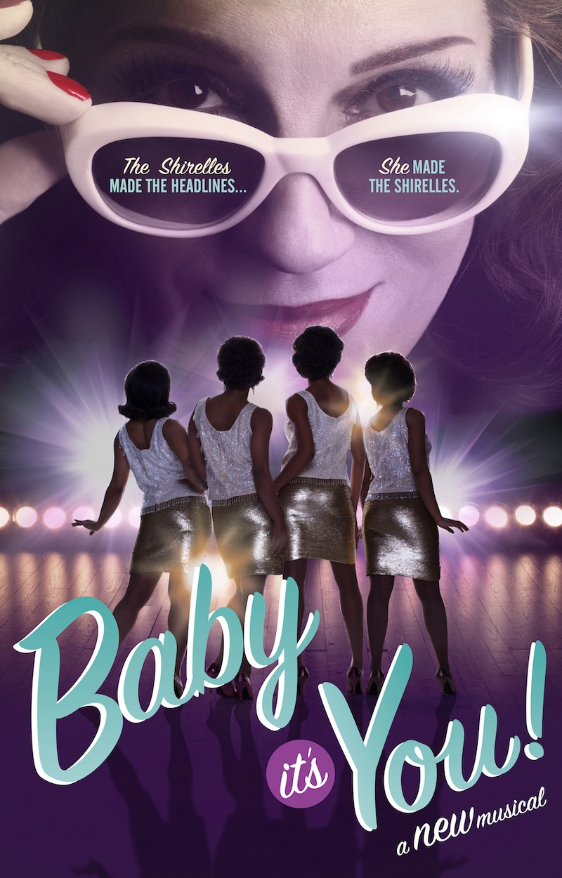 baby it's you broadway musical poster shirelles