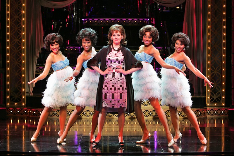 baby it's you broadway musical scene picture beth leavel christina sajous