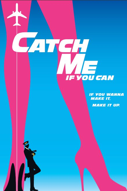 catch me if you can broadway musical poster