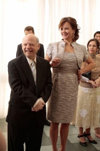 gossip girl scene margaret colin wallace shawn