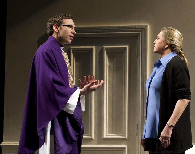 high new broadway play stephen kunken kathleen turner scene