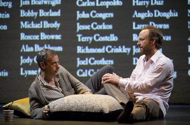 normal heart broadway scene pictures joe mantello john benjamin hickey