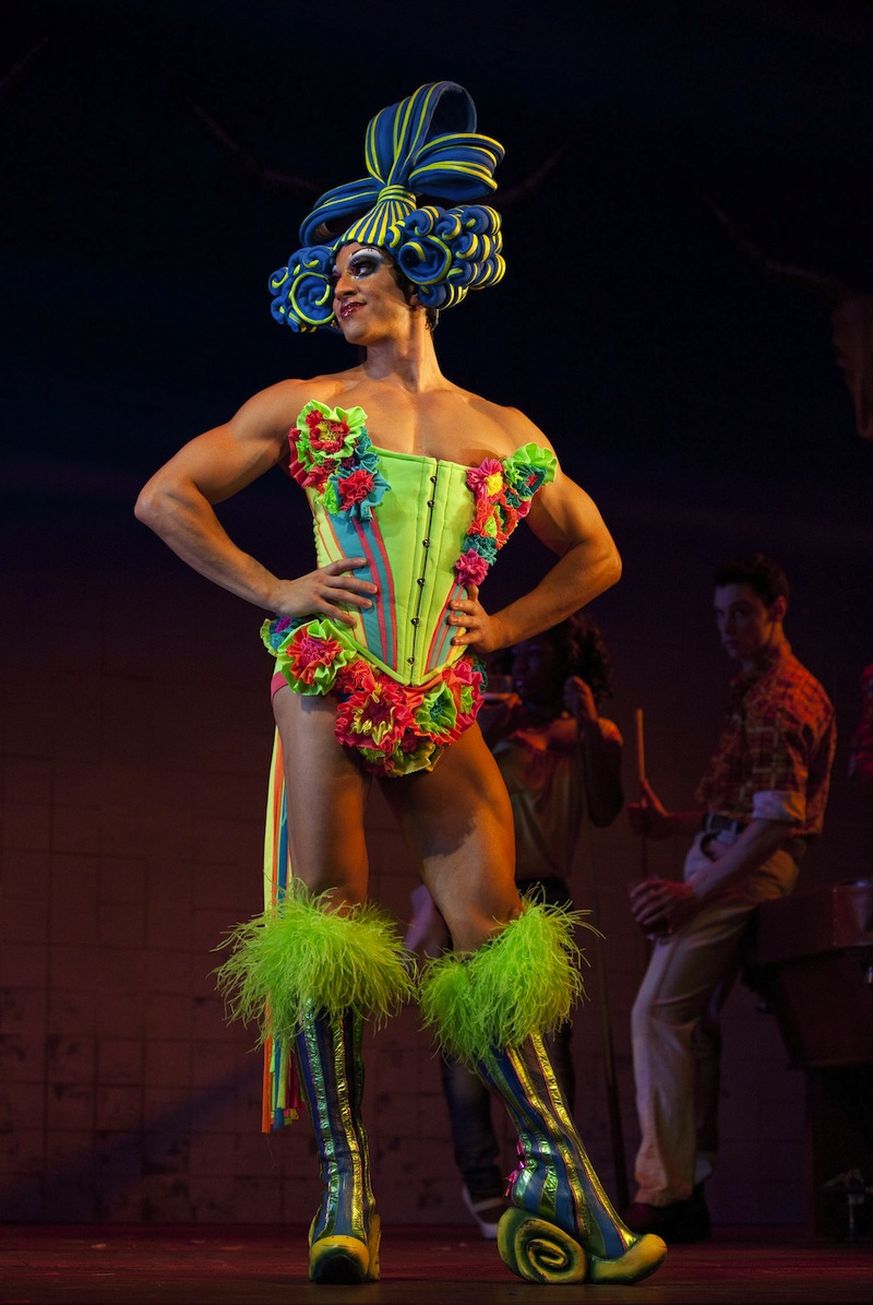 nick adams costume picture priscilla queen of the desert broadway musical