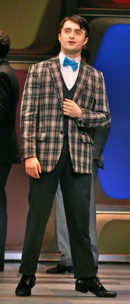daniel radcliffe harry potter how to succeed business without really trying broadway scene