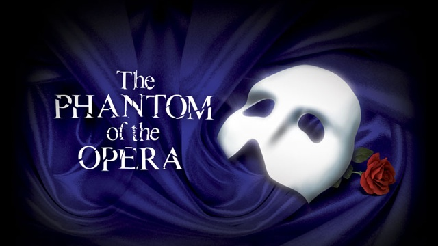 phantom of the opera broadway musical poster