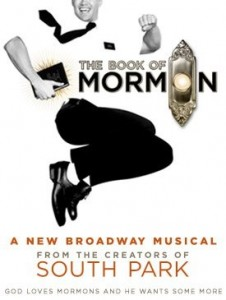 book of mormon broadway musical poster