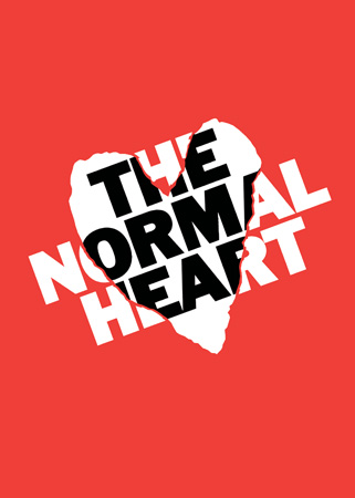 normal heart broadway poster