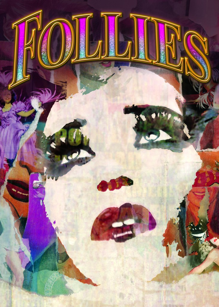 follies broadway musical revival poster sondheim bernadette peters