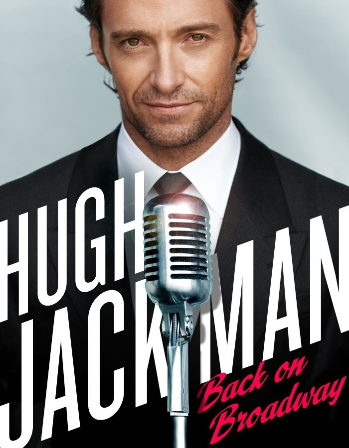 hugh jackman back on broadway concert poster