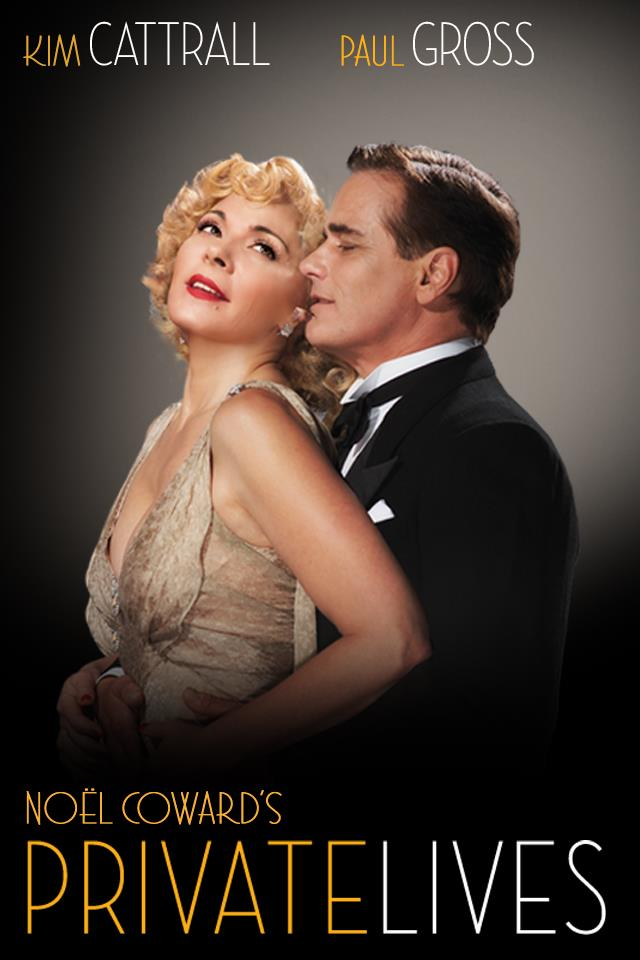 private lives broadway poster kim cattrall paul gross