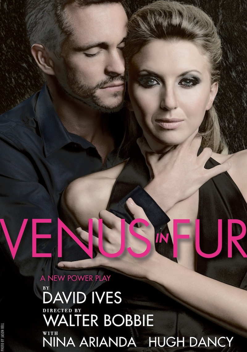 venus in fur broadway poster nina arianda hugh dancy