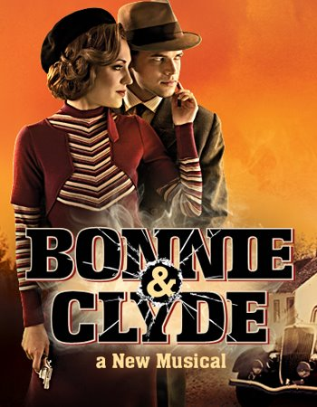 bonnie and clyde broadway musical poster