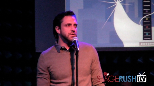 raul esparza astep new york city christmas concert joe's pub public theater
