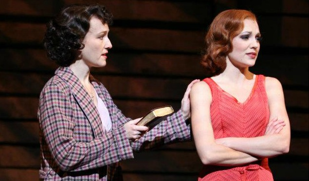 bonnie and clyde broadway musical scene