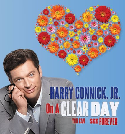 on a clear day you can see forever broadway musical revival poster harry connick jr
