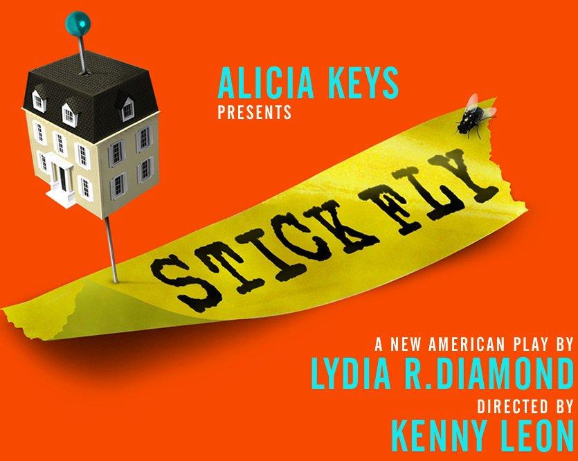 sticky fly broadway poster