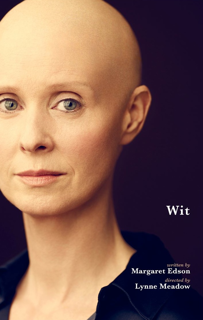 wit cynthia nixon broadway play poster