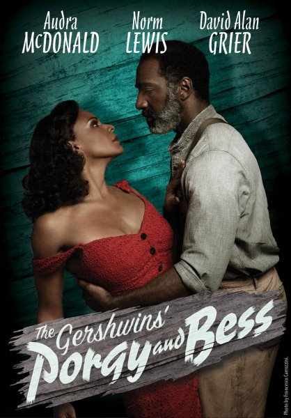 porgy and bess broadway poster audra mcdonald norm lewis