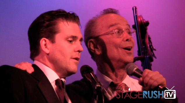 robert creighton joel grey anything goes broadway revival duet sing metropolitan room