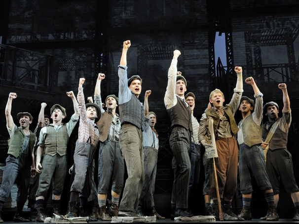 newsies disney broadway musical jeremy jordan