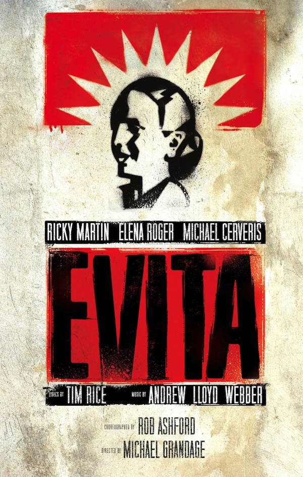 evita broadway revival poster